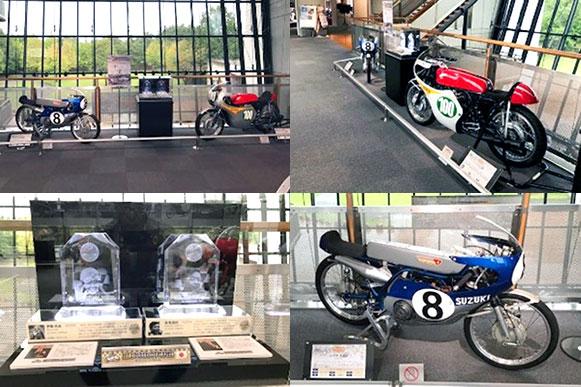 MFJモーターサイクルスポーツ殿堂の展示