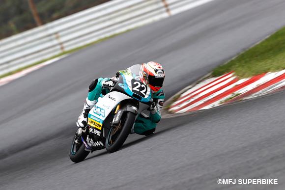 【速報】尾野弘樹が3戦連続でポールポジションを獲得!